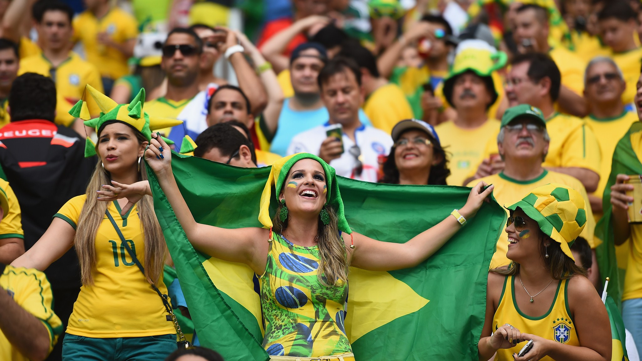 145 - Brazil-Mexico [0-0] -- 17 Jun 2014 - 16-00 -- Fortaleza - Estadio Castelao