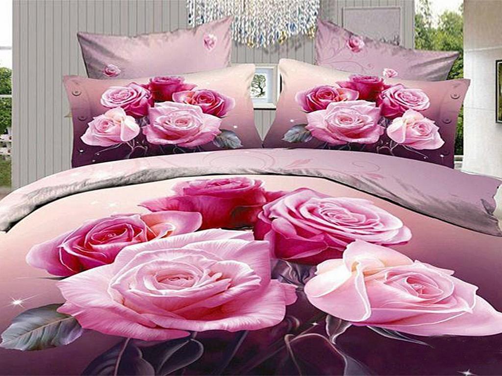 3d Comforters Part - 41: Housse De Couette Wholesale 4 PCS Shipping 3D Bed Linen 3D Bedding Set King  Size ...