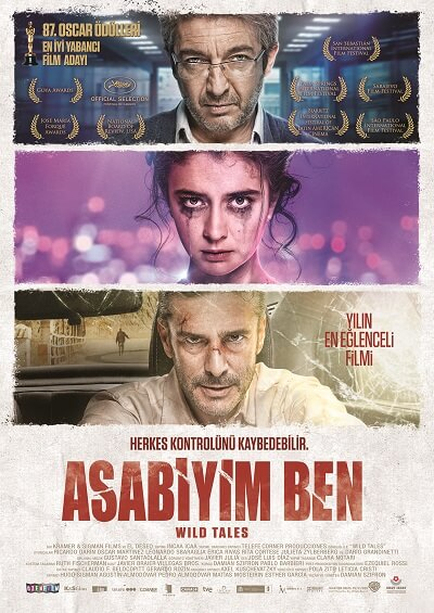 Asabiyim Ben | Wild Tales | 2014 | BRRip XviD | Türkçe Dublaj