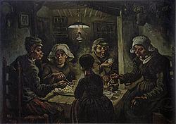 250px-van-willem-vincent-gogh-die-kartoffelesser-03850 Van Gogh Eserlerinden Birkaçı