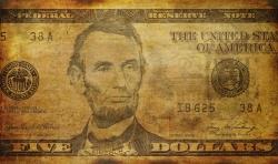 US Dollar Grunge