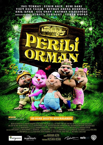 Köstebekgiller: Perili Orman | 2015 | WEB-DL XviD | Yerli Film