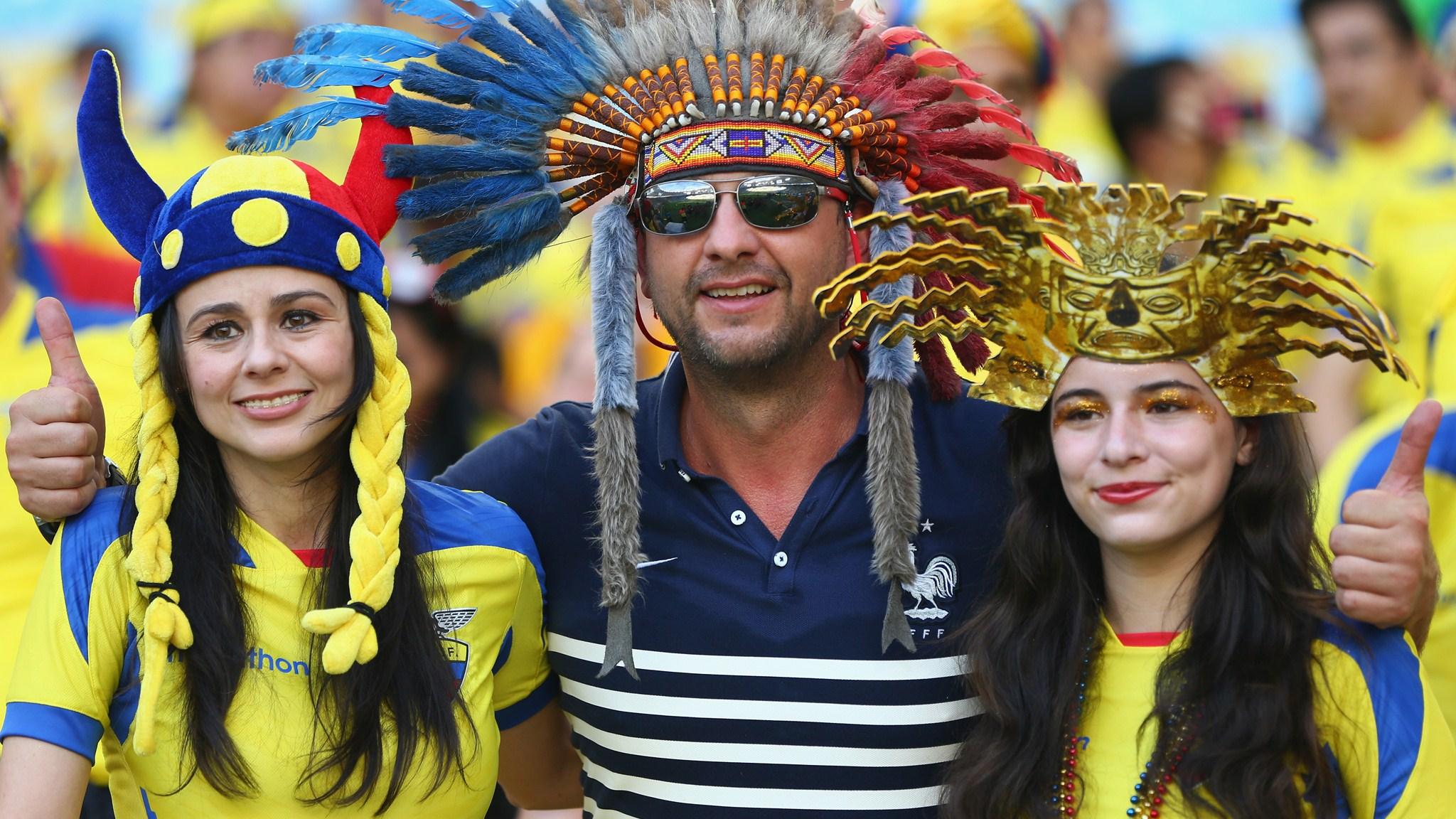 114 - Ecuador-France [0-0] -- 25 Jun 2014 - 17-00