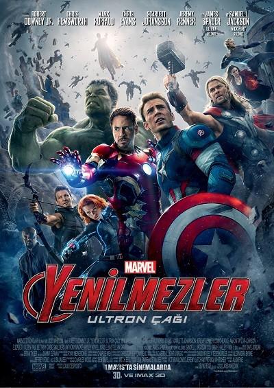 Yenilmezler Ultron Çağı | Avengers Age of Ultron | 2015 | BRRip XviD | Türkçe Dublaj