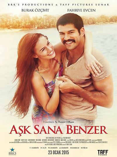 Aşk Sana Benzer 2015 DVDRip XviD Yerli Film