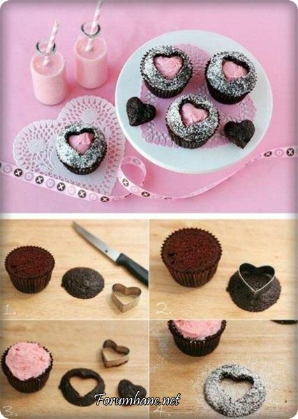 Как украсить кексы своими руками