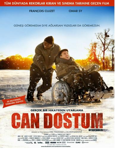 Can Dostum - The Intouchables 2011 Türkçe Dublaj 720p 1080p Downlaod Yükle İndir