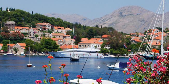 Adriyatik Sahilinde Bir Şehir Dubrovnik (Ragusa)