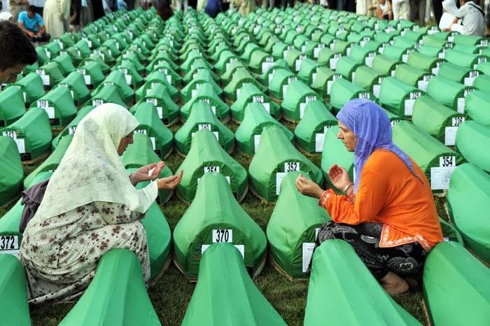 Tarihte Srebrenica Katliamı