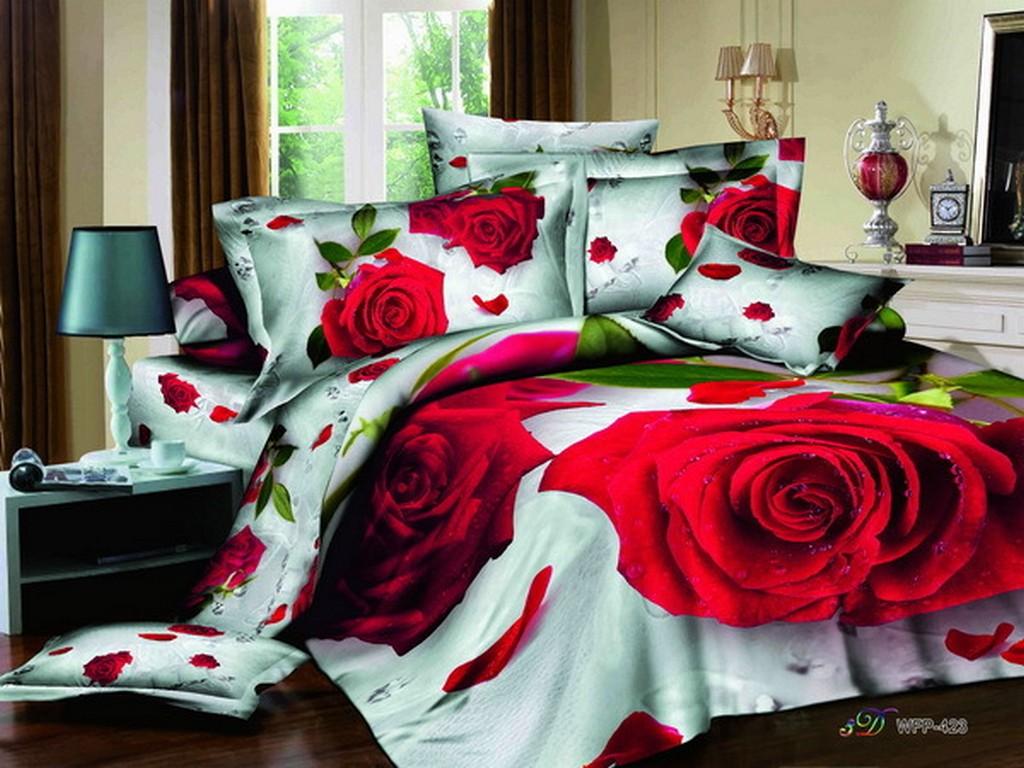 Wonderful 3D landscape bedding sets   3D Bedding Sets LB98