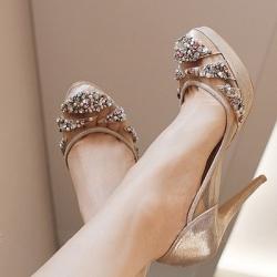 büyük beden yüksek topuk ayakkabı modelleri (123)