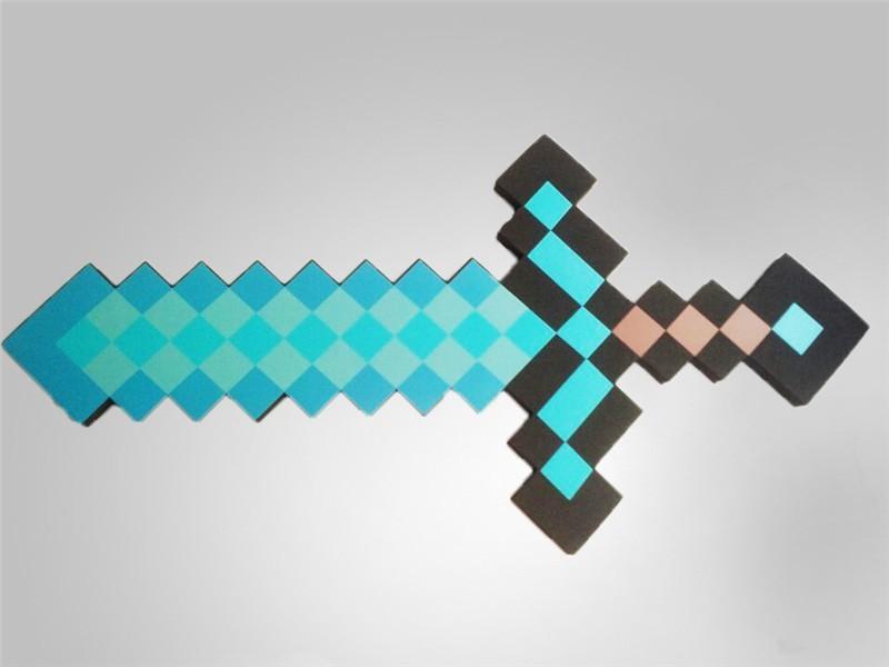 майнкрафт картинки для печати меч