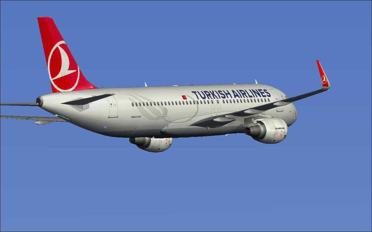 Turkısh aırlınes Aırbus A320 LTBA take off