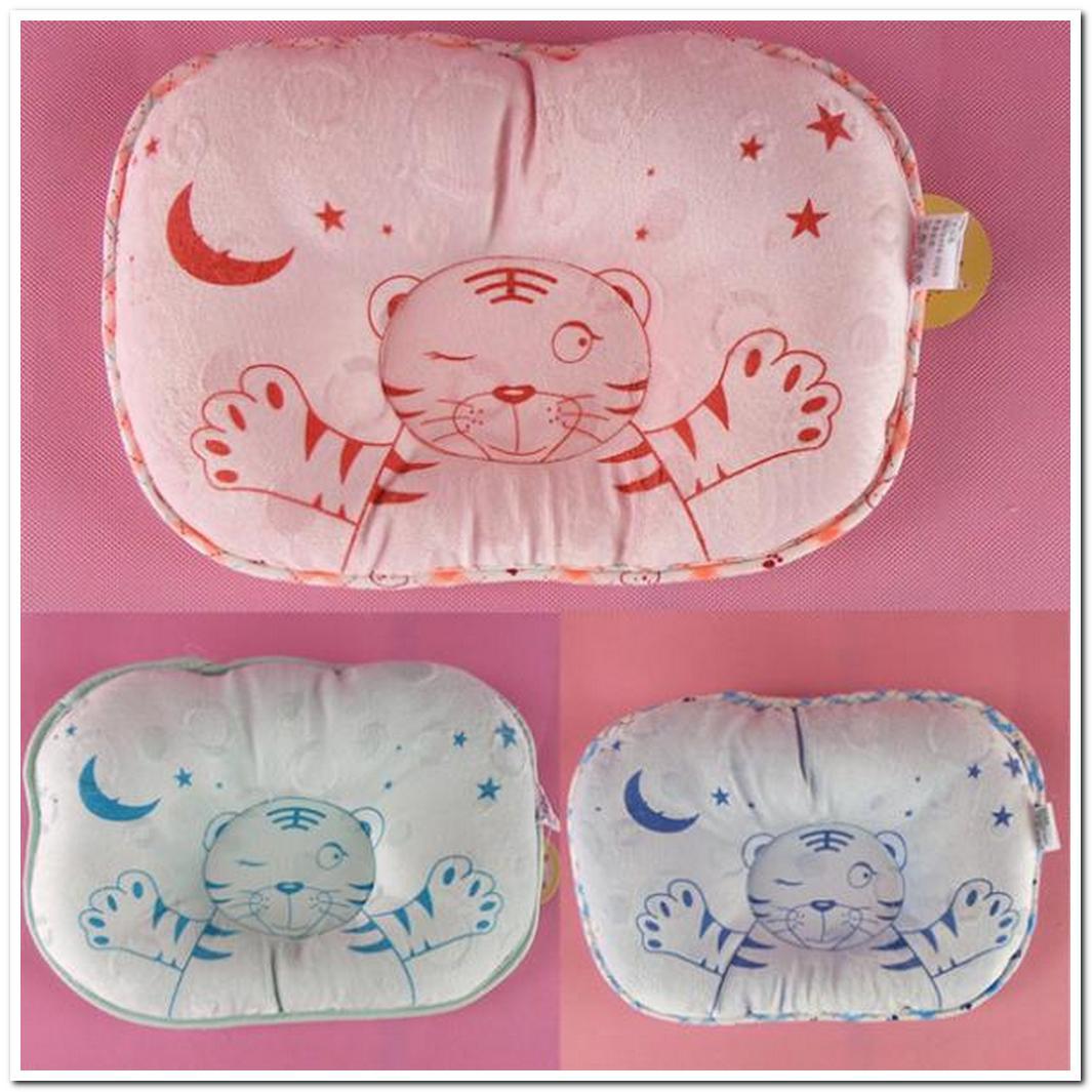 Baby memory foam pillow newborn 100 cotton pillow baby shaping pillow slammed Baby sleeper Pillow C