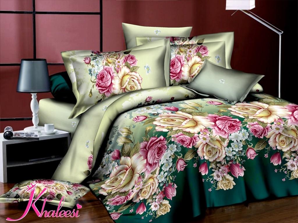 3D Bedding Sets Chic Flower Bedding Set Queen Comforter Bedding Sets Oil Painting Bedding Cheap Qui