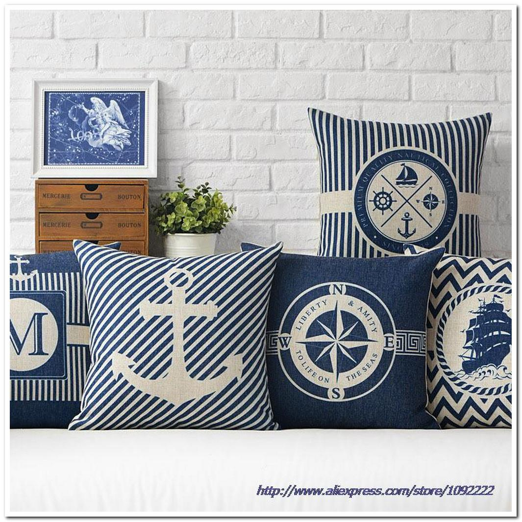 geometric stripes decorative pillows continental mediterrane
