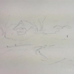 Karlı Manzara çizimi Kış Manzarası çizimi 1 250x250 Piclect