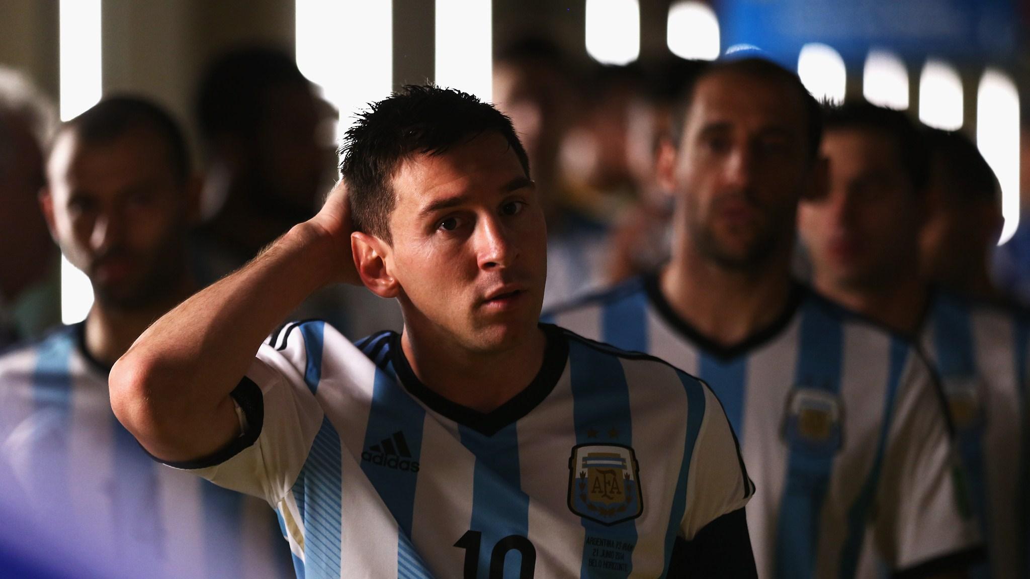 عکس مسی آرژانتین