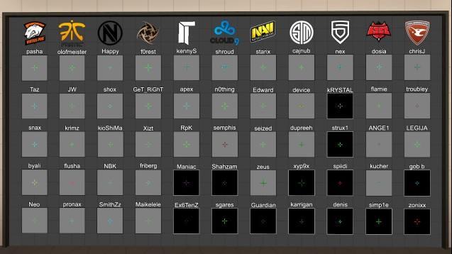 Как настроить прицел кс го карта top 100 skins cs go
