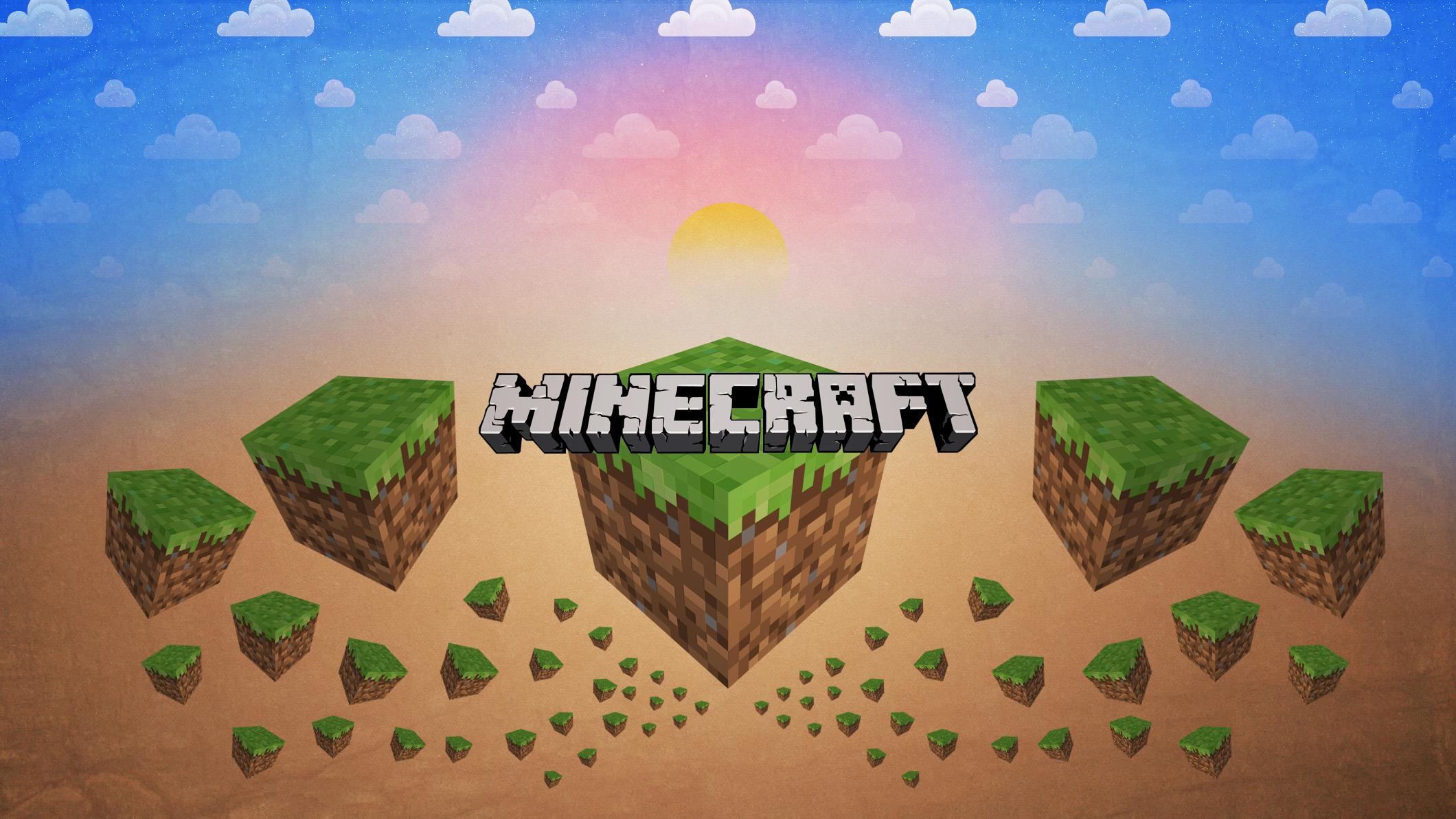 Скачать картинку для ютуба 2048 х 1152 - кладовая Minecraft