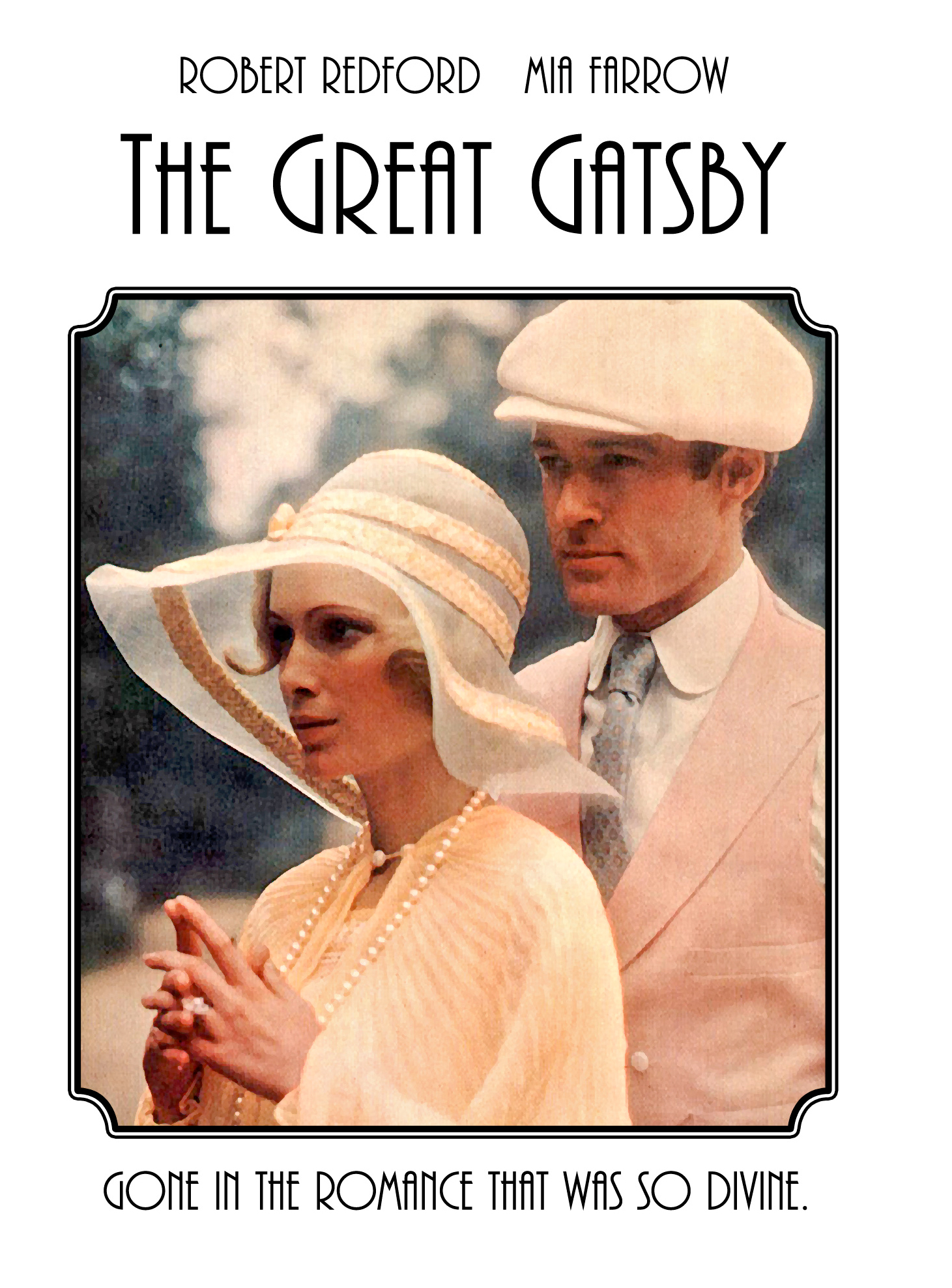 an analysis of the 1974 film the great gatsby and its comparison to the novel by f scott fitzgerald You're going to hear a whole bunch of gripes about the great gatsby movie gatsby' book to movie: 5 key differences f scott fitzgerald novel.